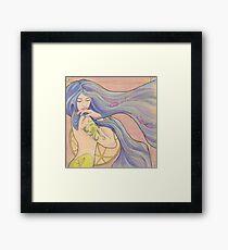 Tattooed Mermaid 1 Framed Print