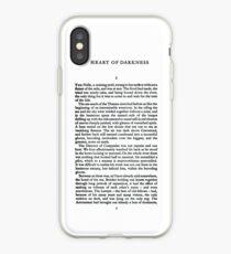 Herz der Dunkelheit von Joseph Conrad iPhone-Hülle & Cover