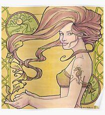 Tattooed Mermaid 2 Poster