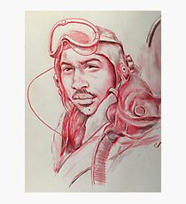 Red Tail WWII AirMen  Photographic Print