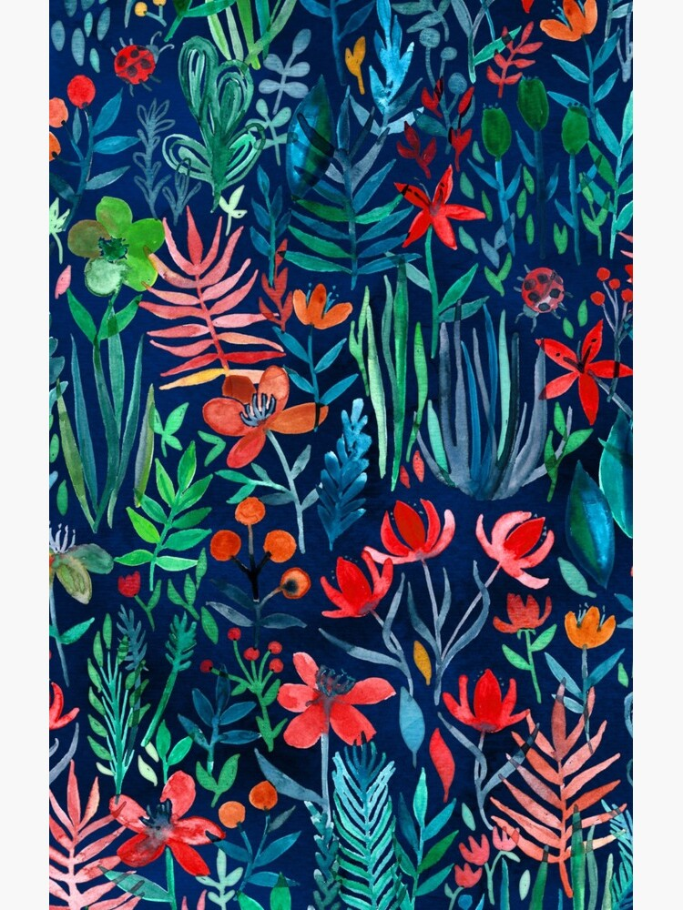 Tropical Ink - a watercolor garden by micklyn
