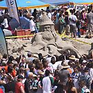 The 30th Annual  Sandcastle Building Contest  by Heather Friedman