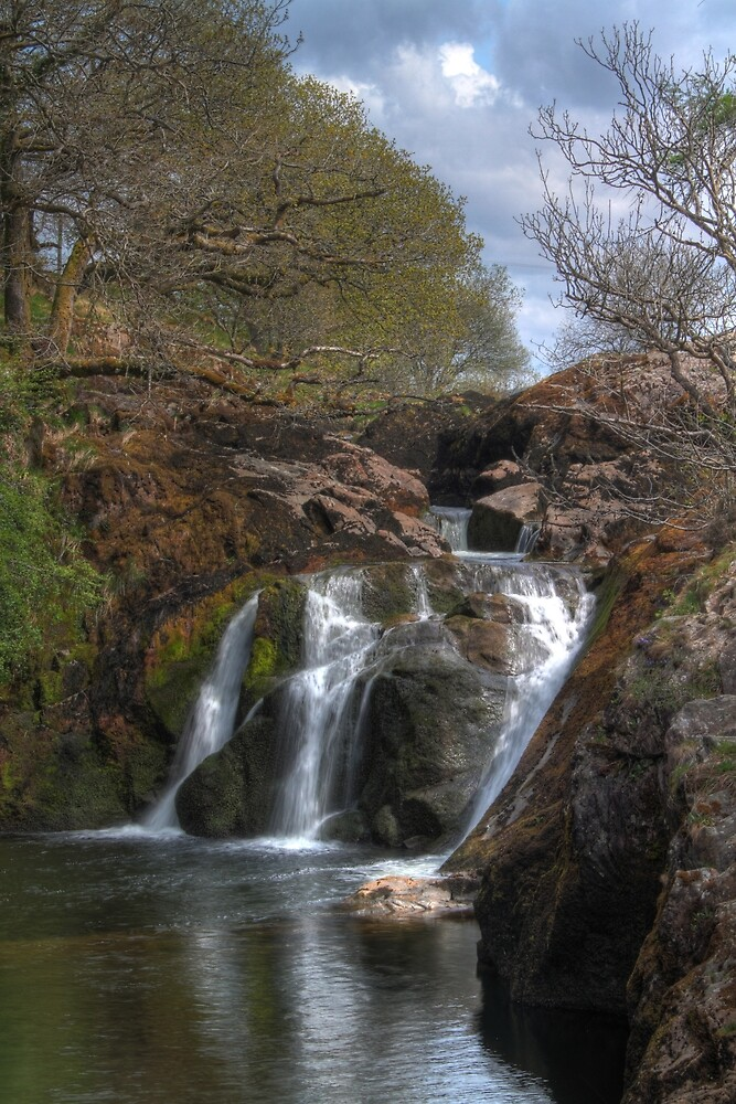Yorkshire Dales Waterfall by chris2766