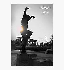 Karate Kid Photographic Print
