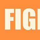 News Fighters Text Logo by Dylan Behan