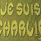 Je Suis Charlie Crop Circle by EyeMagined