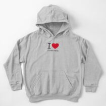 I ♥ INDONESIA Kids Pullover Hoodie