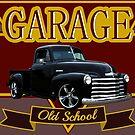 Garage Old School by Edgar Moya