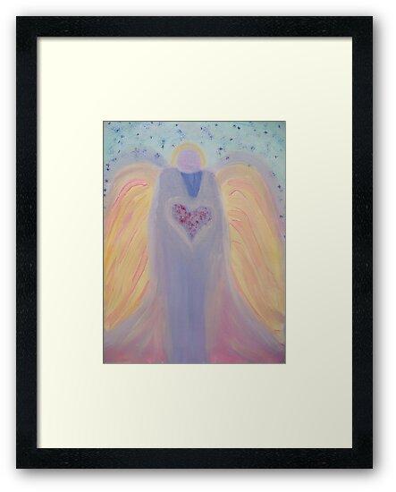 Healing Angels-Grandfather Angel by Ella May
