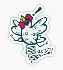 Spring Chicken Sticker
