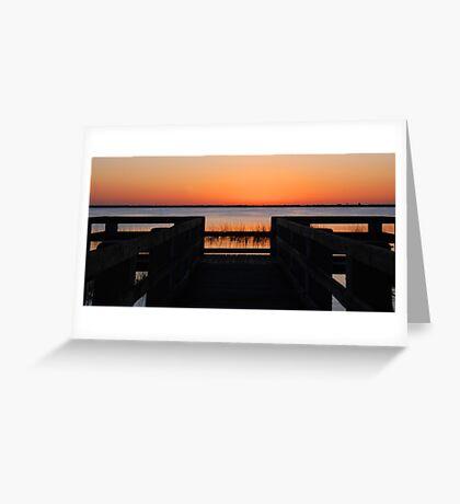 Last Sunlight Greeting Card