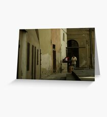 Pistoia Greeting Card