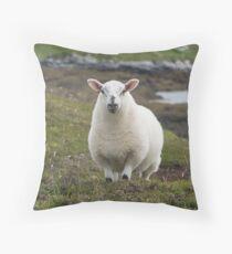The prettiest sheep Throw Pillow