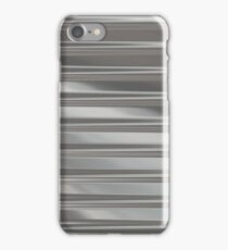 Corrugated Chrome #1 iPhone Case/Skin