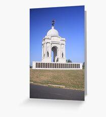 Pennsylvania Monument at Gettysburg Greeting Card