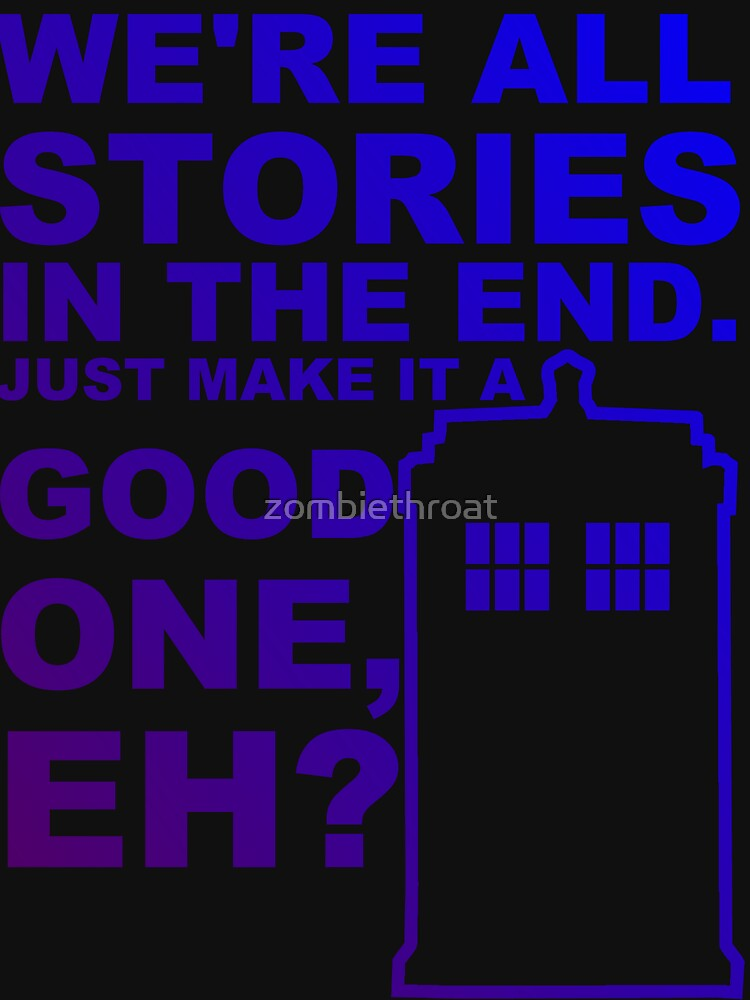 We're All Stories  by zombiethroat
