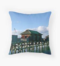 Cowichan Bay (2)  Throw Pillow