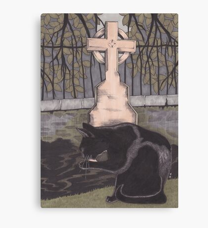 St Nicholas Kirkyard, Aberdeen Canvas Print