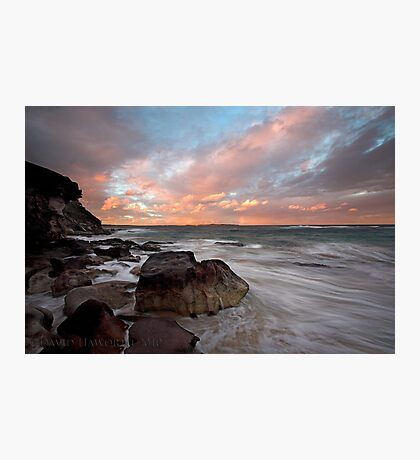 Rainbow Coast Photographic Print