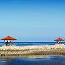 Bali Huts by Nathan Jermyn