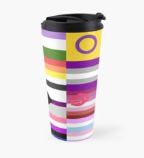 LGBT Pride Flags Collage Travel Mug