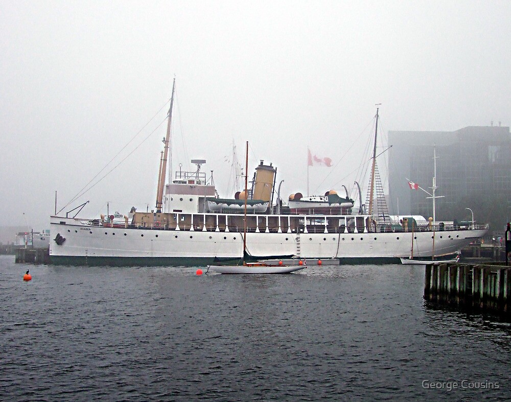 C.S.S.Acadia by George Cousins