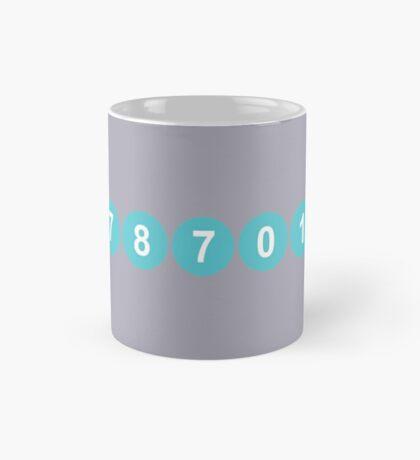 78701 Austin Zip Code Mug