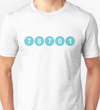 78701 Austin Zip Code T-Shirt