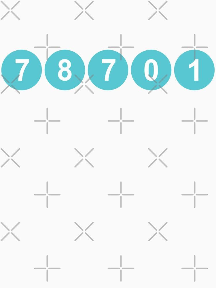 78701 Austin Zip Code by willpate