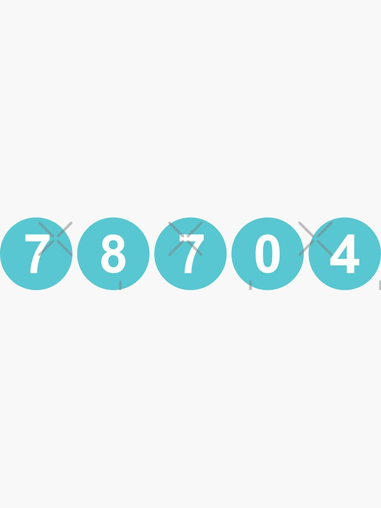 78704 Austin Zip Code by willpate