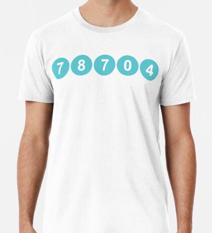 78704 Austin Zip Code Premium T-Shirt