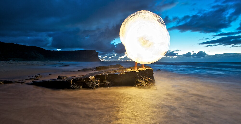 New Sun Rising II by Alexander Kesselaar