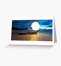 New Sun Rising II Greeting Card