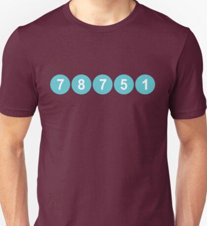 78751 Austin Zip Code T-Shirt
