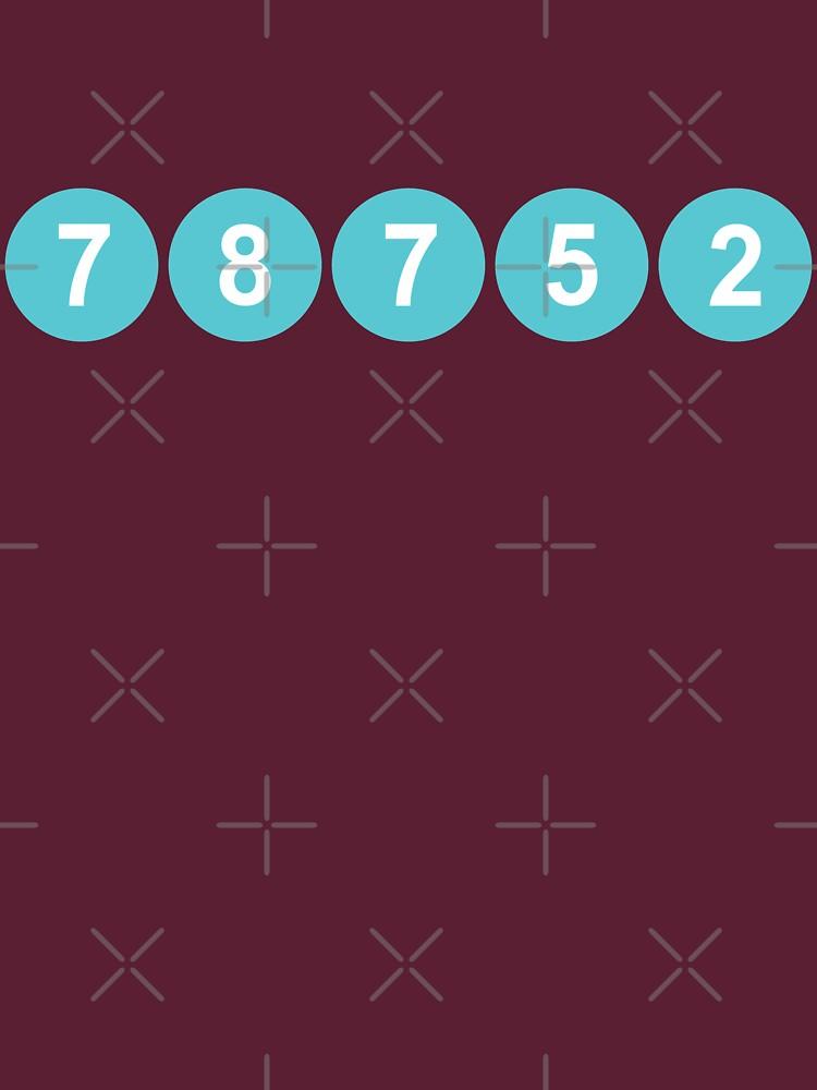 78752 Austin Zip Code by willpate