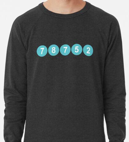 78752 Austin Zip Code Lightweight Sweatshirt