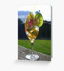 Fruits of the Sun! - Cocktail - Southland - New Zealand Greeting Card