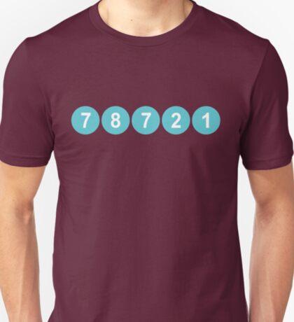 78721 Austin Zip Code T-Shirt