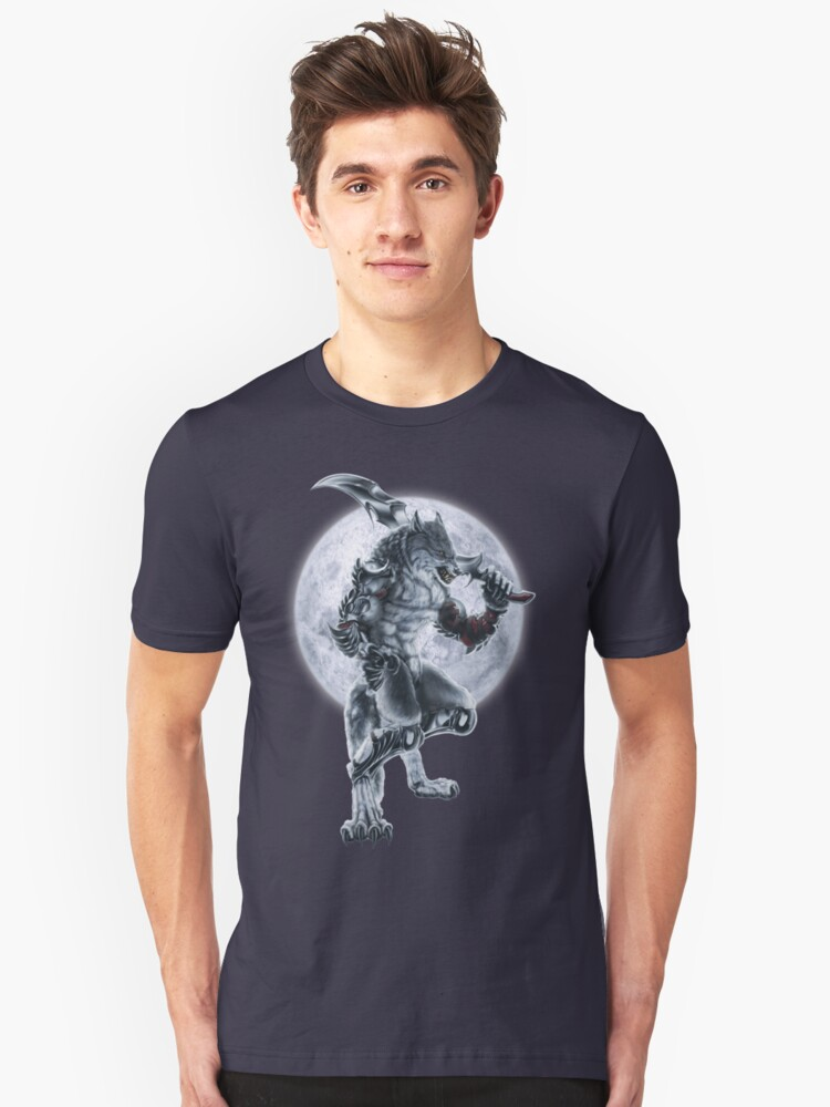 Lycan Knight Unisex T-Shirt Front