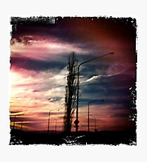 Industrial Storm Photographic Print