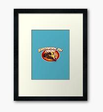 earthworm jim origin Framed Print