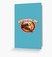 earthworm jim origin Greeting Card