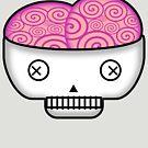 Smarty Skull by Frank Pena