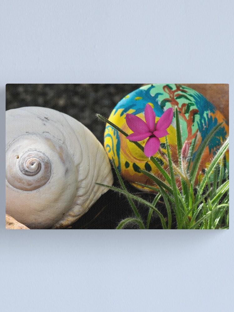 Alternate view of Moon Shells Canvas Print