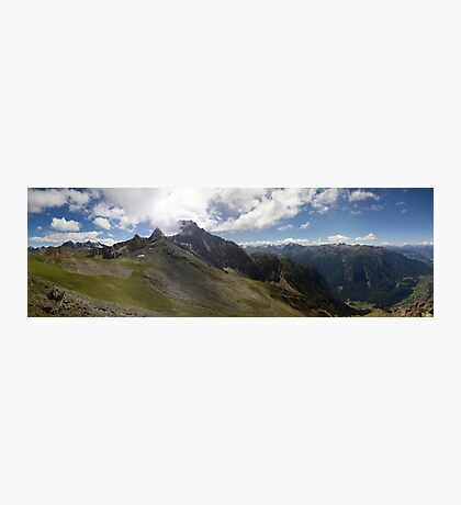 Cloudy Summit Photographic Print