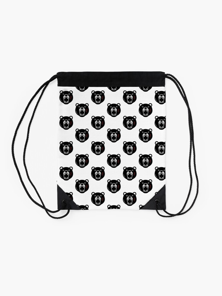 Alternate view of This Is UnBEARable ! Drawstring Bag