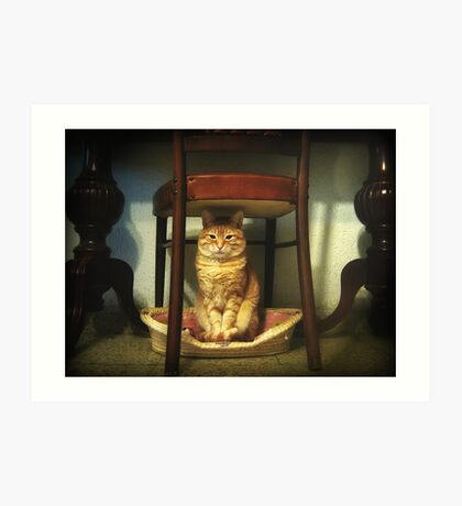 Please, you step into my office...now!!! Art Print