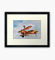 Breitling Wing Walkers Framed Print