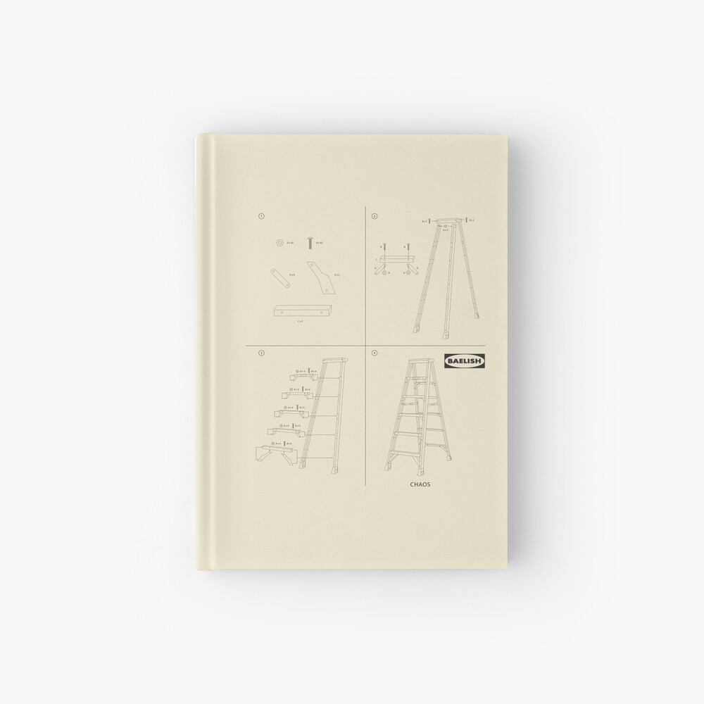 Instructions for Chaos Hardcover Journal