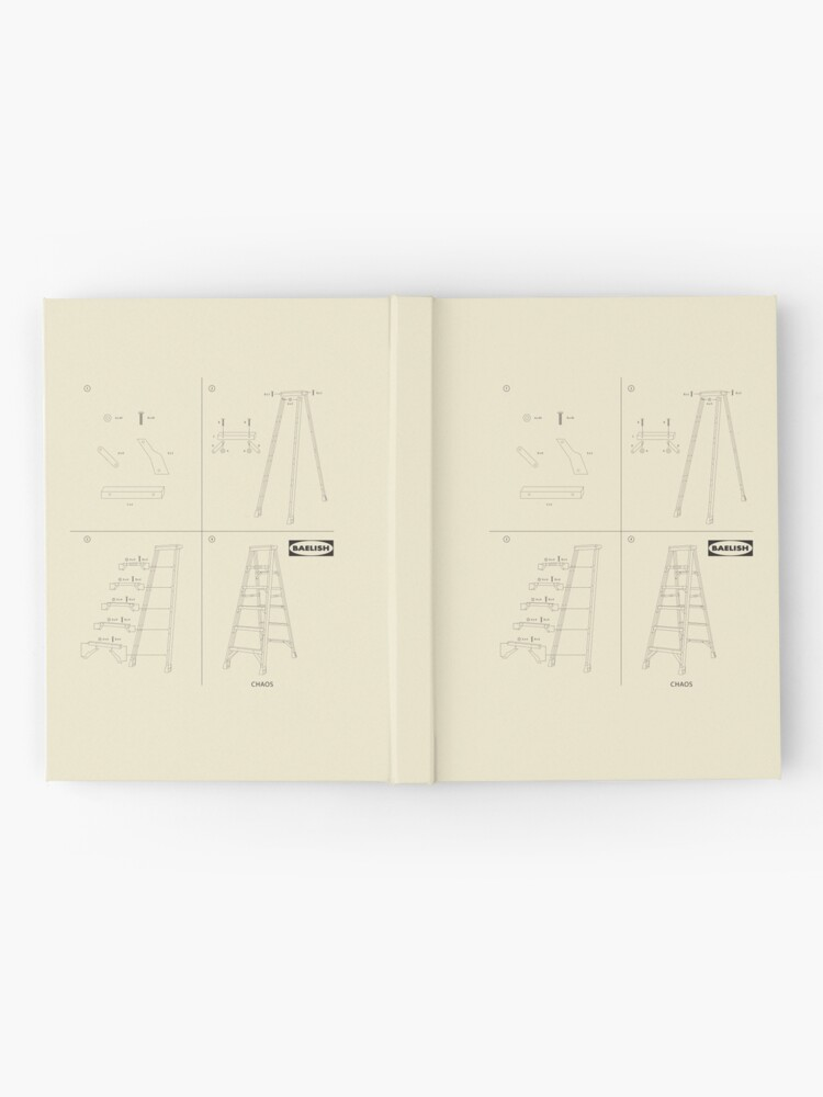 Alternate view of Instructions for Chaos Hardcover Journal